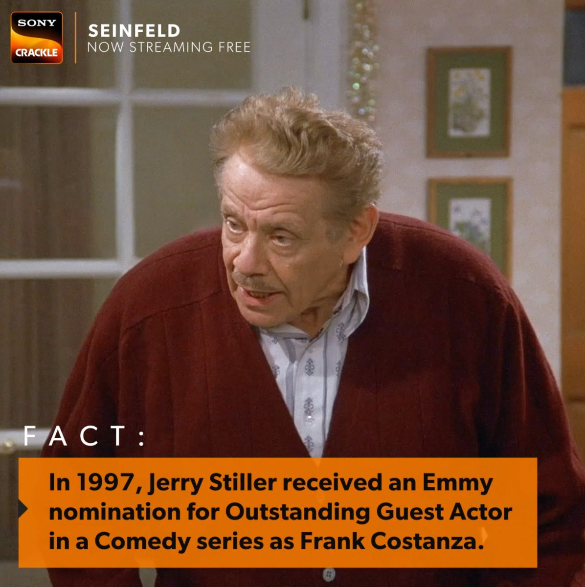 Crackle On Twitter Hoochie Mama Did You Know Jerry Stiller Got An Emmy Nomination For Playing Frank Costanza On Seinfeldtv Watch Every Episode Of Seinfeld Free On Sony Crackle Now Https T Co Bzt00pzswz Https T Co X3e7enno5a (reclining the seats in the van to a bed) hey, look at this. crackle on twitter hoochie mama did