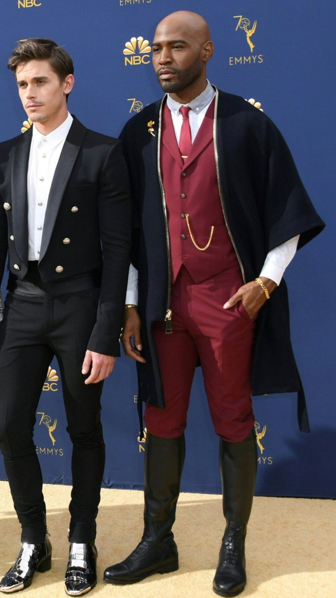 antoni and karamo look like hogwarts professors who volunteered to chaperone the yule ball just for an opportunity to get dressed up