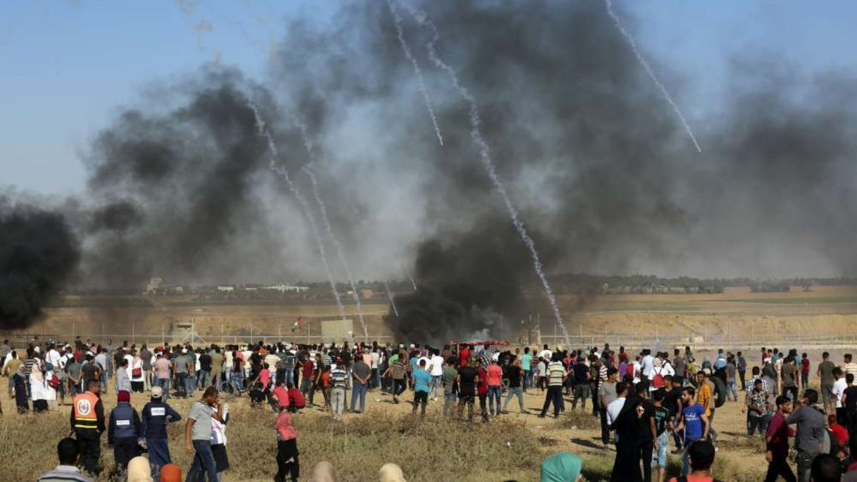 Striscia di Gaza, 95 palestinesi feriti dal fuoco israeliano #gaza http://mdst.it/02a3163838/  - Ukustom