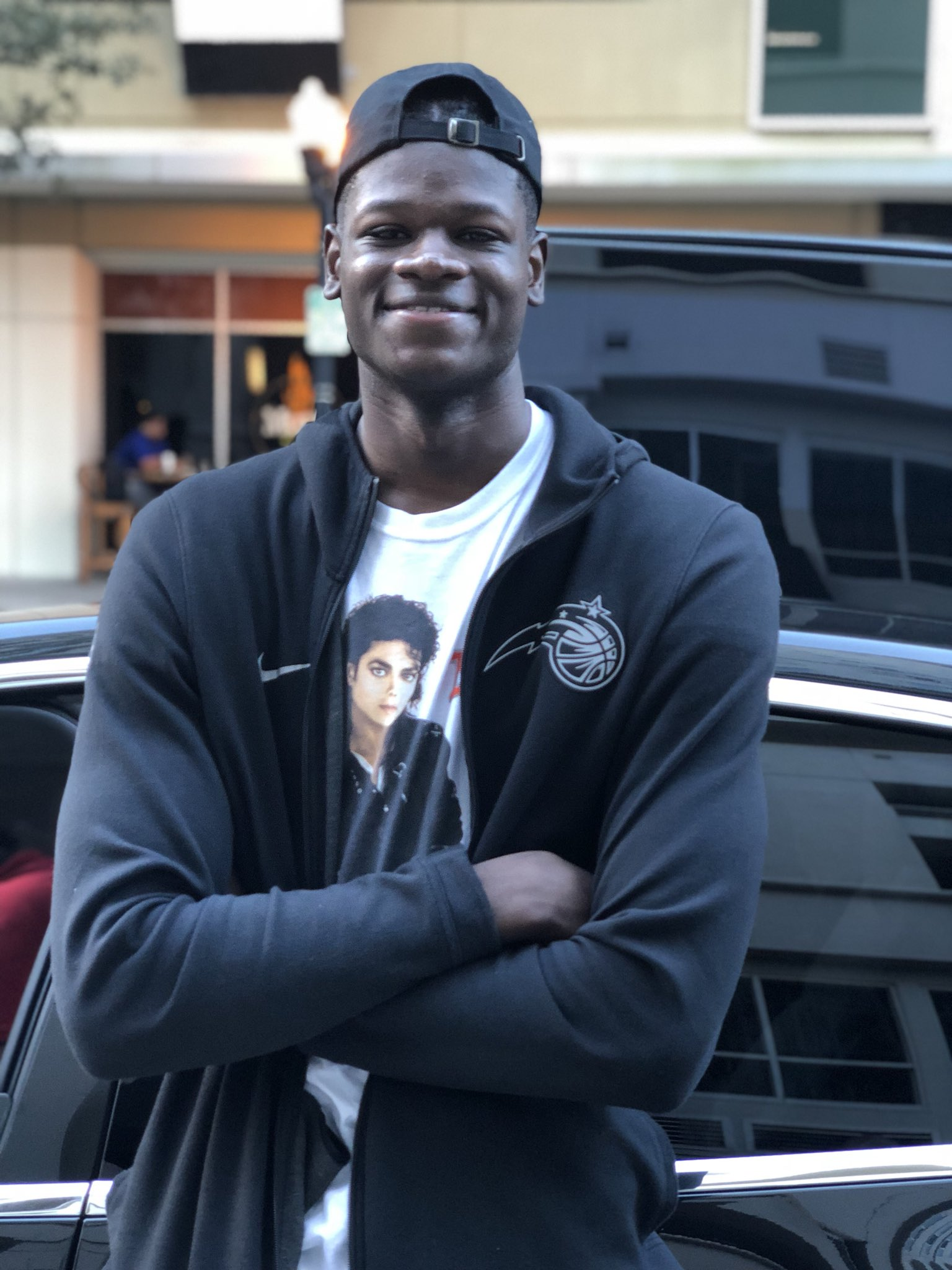 6th overall @NBADraft pick.  @TheRealMoBamba #ADayWithMo https://t.co/cpsGz0GU5B