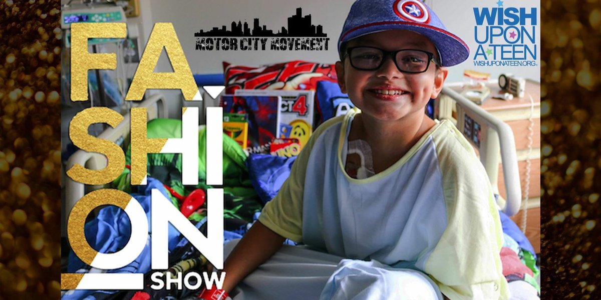 🎗💛   @WishUponATeen and #MotorCityMovement are hosting an event this Thursday in recognition of #ChildhoodCancerAwareness Month! The fashion show will include local celebrities and feature amazing children who have received cancer care @ChildrensDMC http://therunwaydetroit.com/