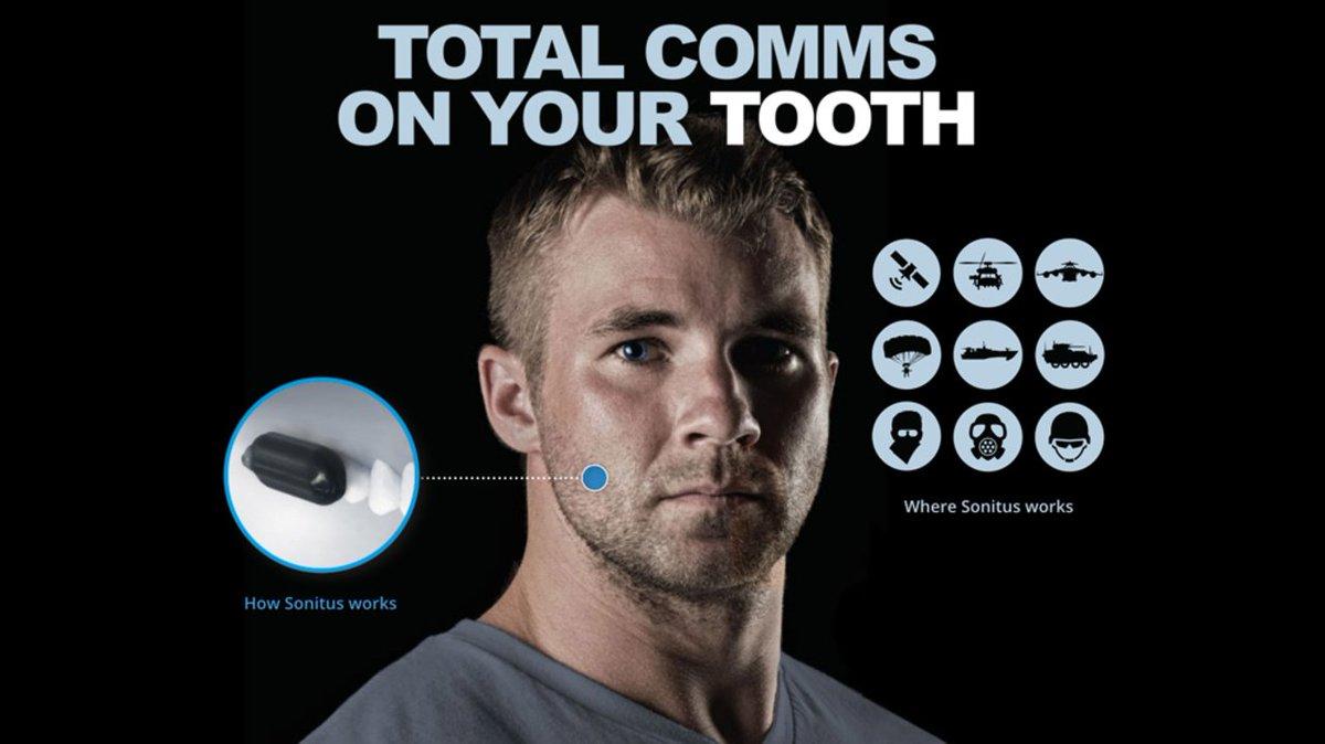 歯に装着する謎の通話デバイス、ペンタゴンから多額の資金調達をゲット #携帯電話 #FBI #サイエンス #テクノロジー #プロダクト https://t.co/gWIjdPAYXd