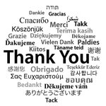 Image for the Tweet beginning: We're grateful to clients who