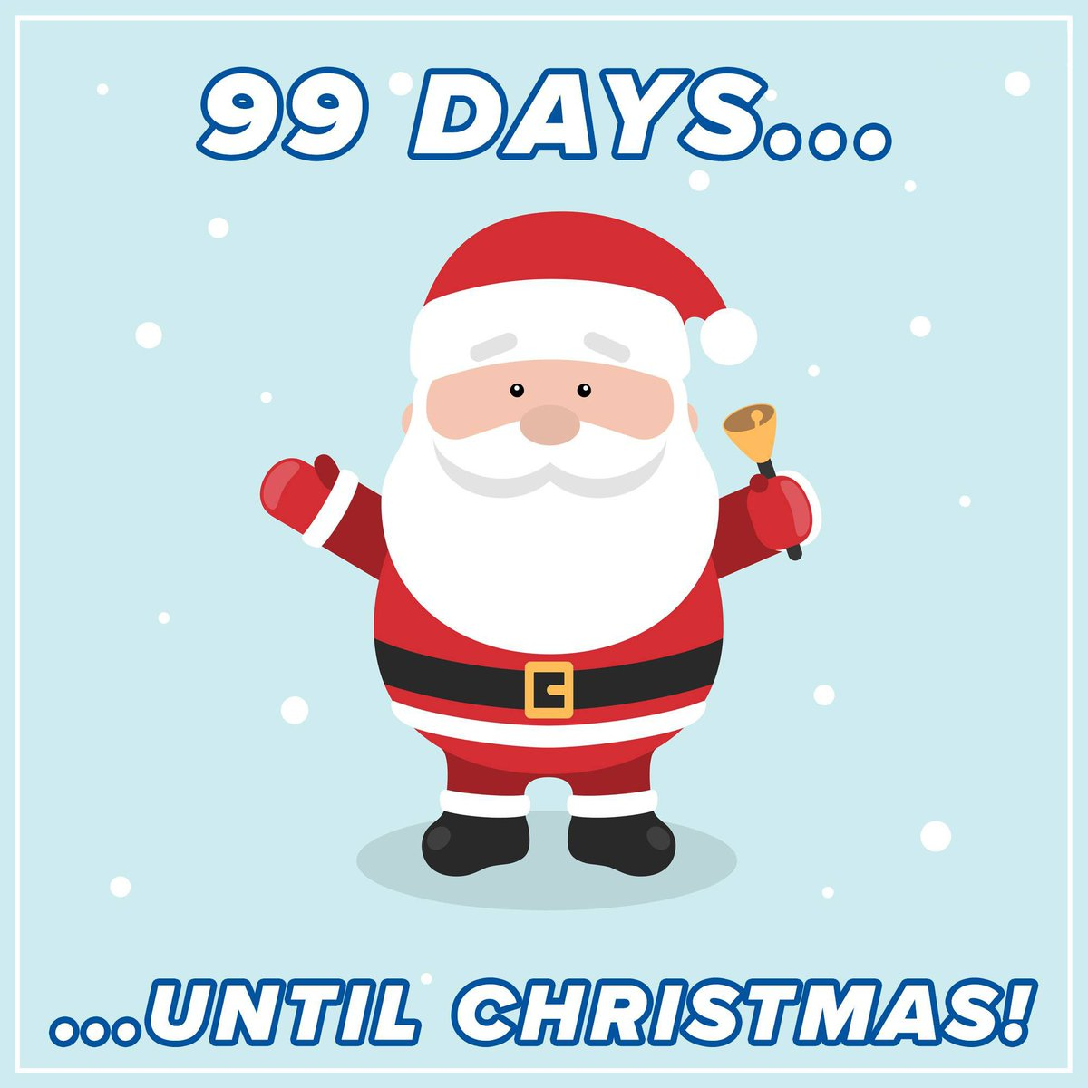 Until Christmas 99 Days Till Christmas.Local News 8 On Twitter We Re Officially In The Double