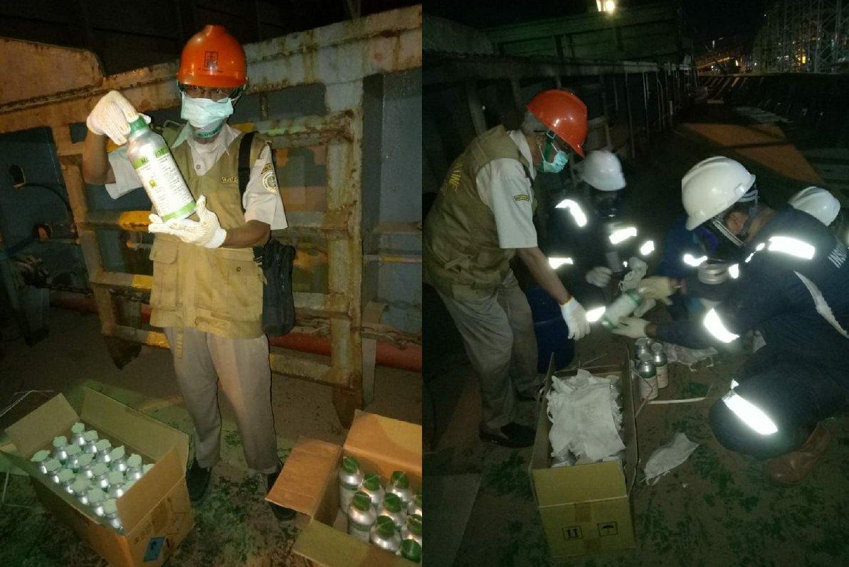 Ekspor Bungkil Kelapa Sawit Indonesia ke Korea