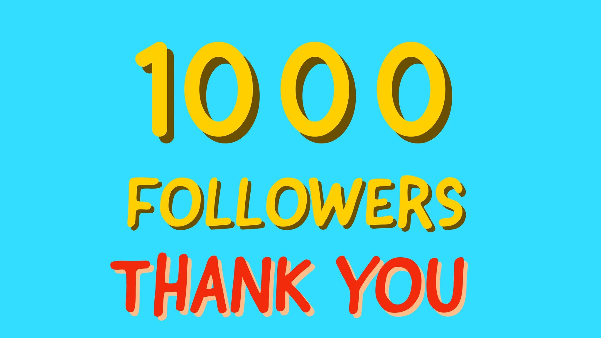 Thank You People ������������ #1000 https://t.co/47qLxxZV6K