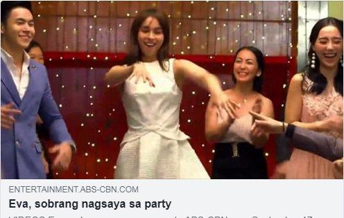 Naging isang #NAKAtraksyon si Eva dahil sa kanyang pagbibigay kulay sa party! Panoorin kung ano ang reaksyon ni Inno DITO: bit.ly/2xkhxKR