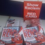 Image for the Tweet beginning: Our leaflets, posters, red cards