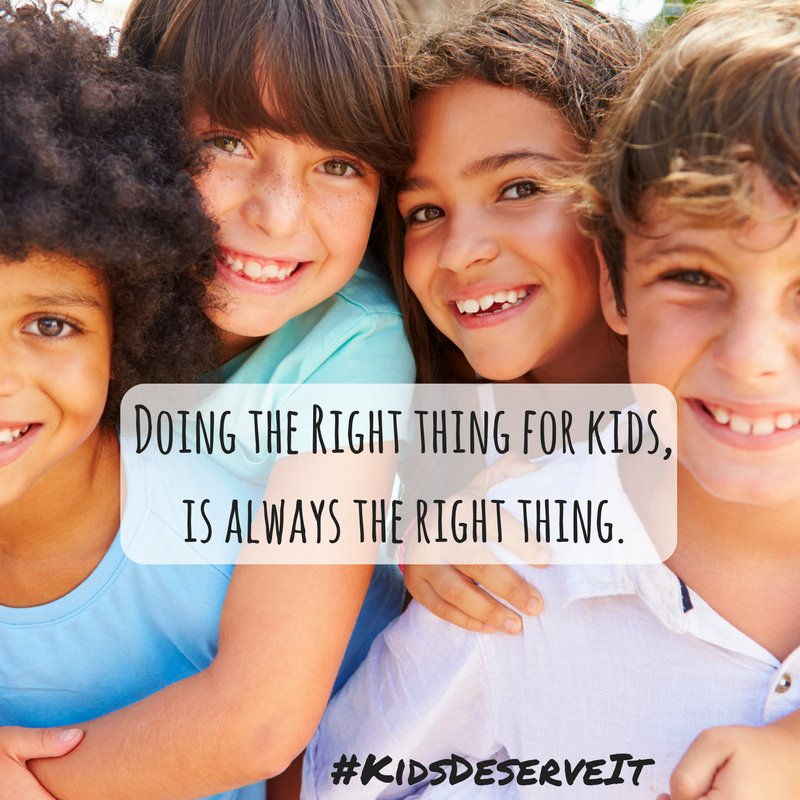 Doing the right things for kids, is always the right thing! #GEFall2018 #KidsDeserveIt #RunLAP