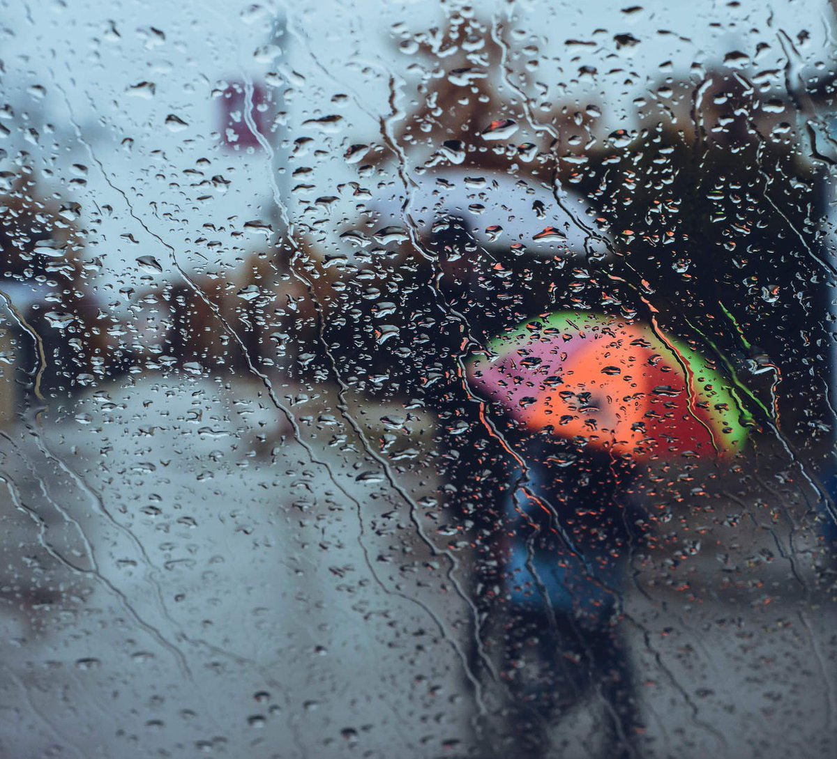 Доброе утро картинки с дождем