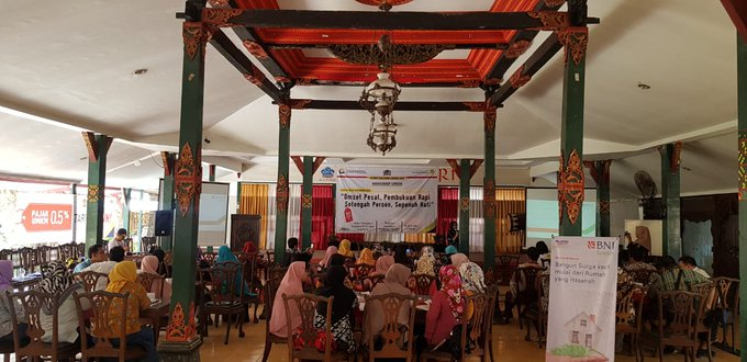 #LIVE Selasa 18 Sept 2018, Workshop UMKM Business Development Services (BDS) oleh @kppkudus kepada #UMKMKudusHebat di RM Ulam Sari. Photo