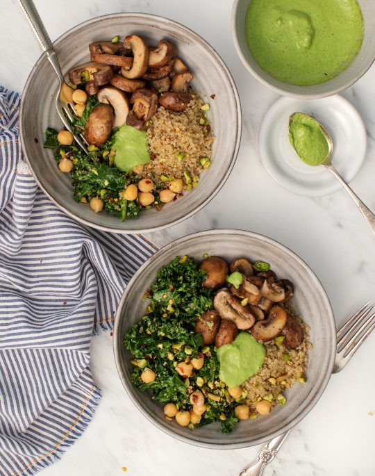 @recipesnosh: Please RT! #recipes #food #dessert Kale Pesto Mushroom Pistachio Bowls https://t.co/BqZ9hxcibF https://t.co/K2psSyA8Ak