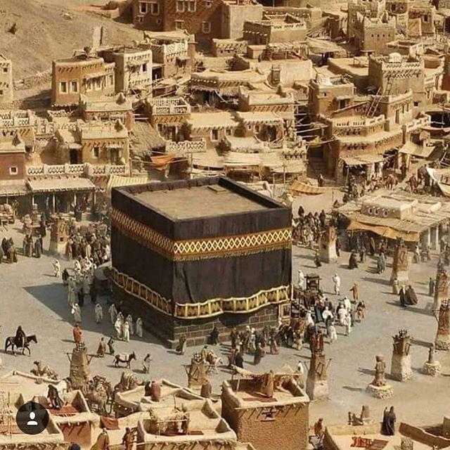 "Jambu Batu Online در توییتر ""Inilah rupa Kaabah dan Mekah pada zaman dahulu. Cantikkan.. #kaabah #mekah #tanahsucimekah #mecca #makkahalmukarramah https://t.co/XuYKUsxitU… https://t.co/LIvACVdDBZ"""