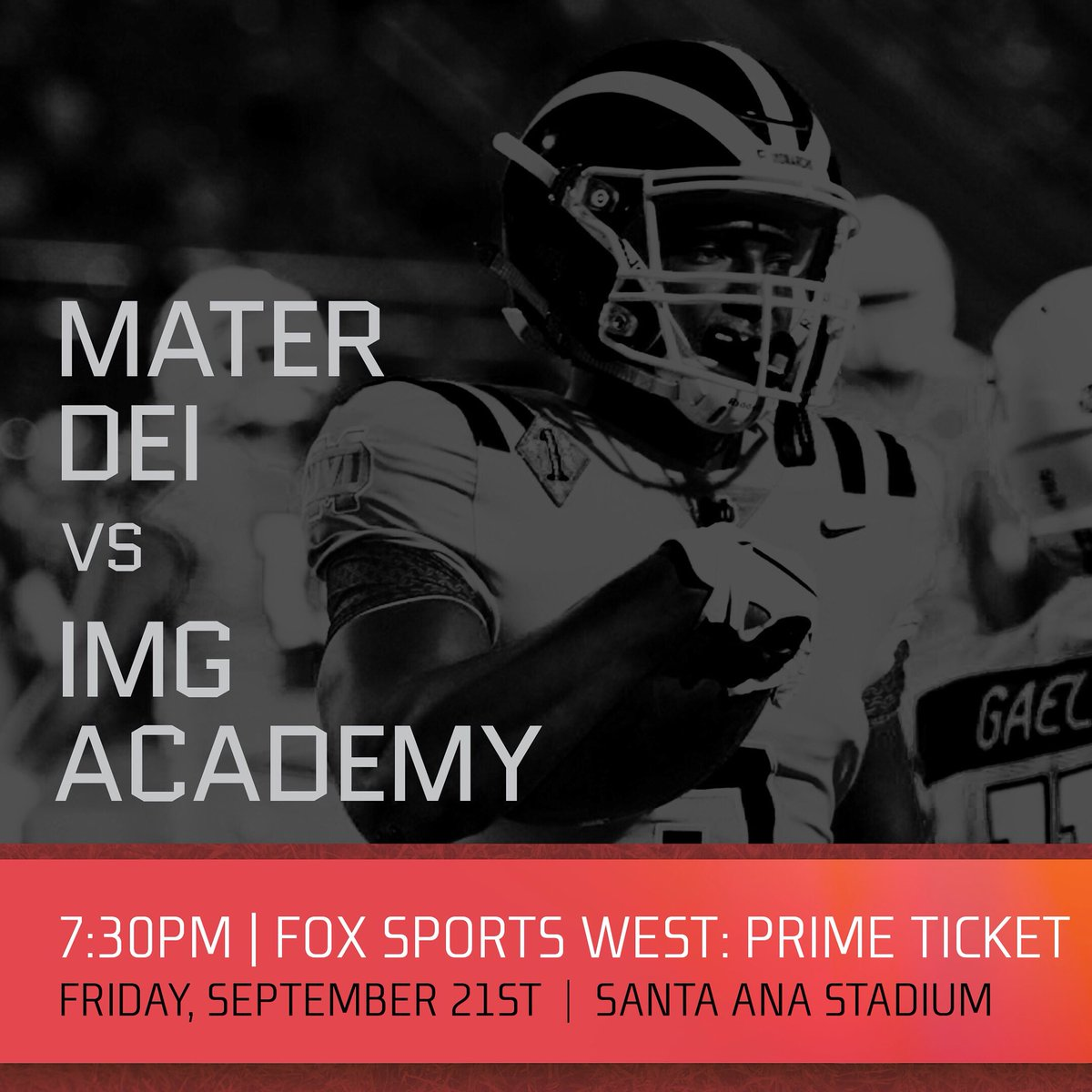 Mater Dei Football On Twitter Md Vs Img 7 30pm Friday The Bowl
