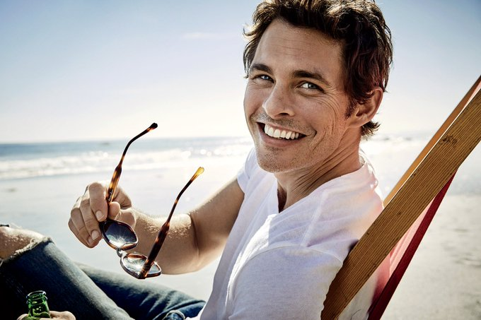 . heartthrob, James Marsden\s turns 45 years young today!  Happy birthday Teddy