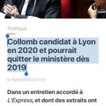 Gérard Collomb Twitter Photo