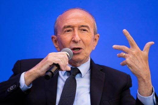 Gérard Collomb devrait quitter le gouvernement en 2019 pour reconquérir Lyon en 2020 >> Photo