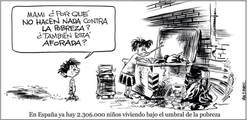 Del aforamiento de la pobreza, ni hablamos @MikiyDuarte