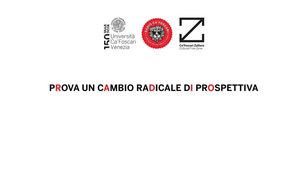 Sapevi che @cafoscari ha una #radio aperta agli studenti? Vieni a scoprirla domani 19 settembre ore 17:00 in Tesa 1 a @CFZattere: @radiocafoscari si presenta!http://unive.it/radiocafoscari  - Ukustom