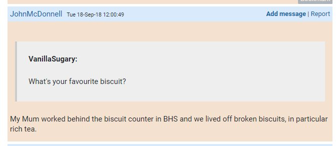 Get a grip, Jim. You're great on big issues, but when Shortbread and Rich Tea don't count as straight answers to your biscuit question, Houston has a problem.