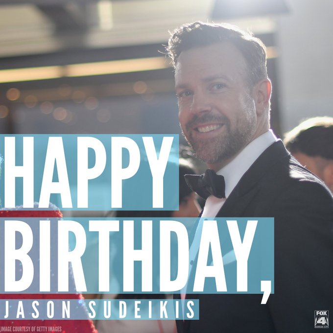 Happy birthday to this Overland Park, Kan., native!  Jason Sudeikis, we hope you have a wonderful day :)