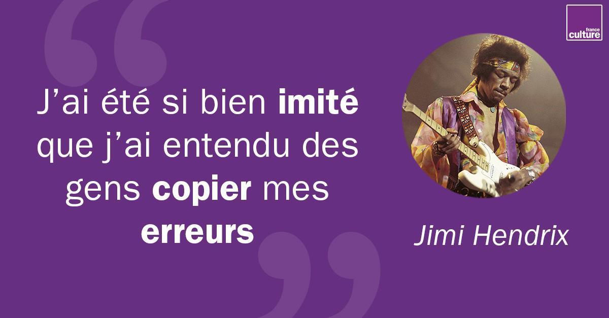 18 septembre 1970 : mort de Jimi Hendrix. Lorsqu'il apparaît en Angleterre à la fin des années 60, il devient très vite le modèle de toute une génération en quête d'évasion psychique. Jeune homme tourmenté, timide extraverti, la guitare lui donne des ailes https://t.co/s0cp9nYDvp