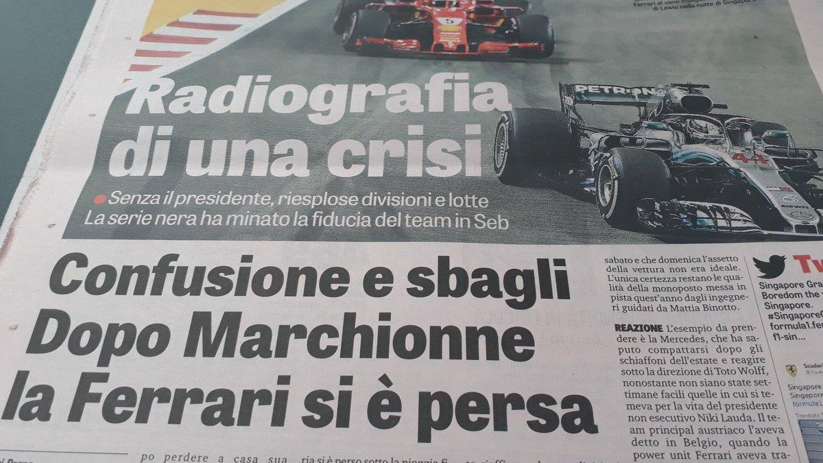Scusate ma se non erro la @ScuderiaFerrari non vince il mondiale piloti dal 2007. Che riferimento è??? #marchionne #RassegnaStampa  - Ukustom