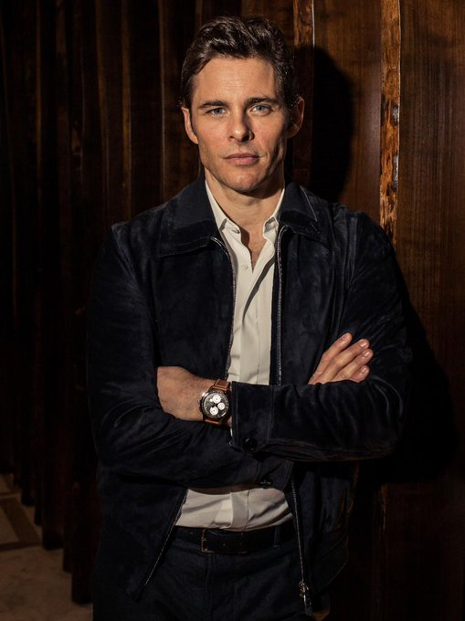 "IWC ""Happy birthday to American actor and IWC Ambassador James Marsden"