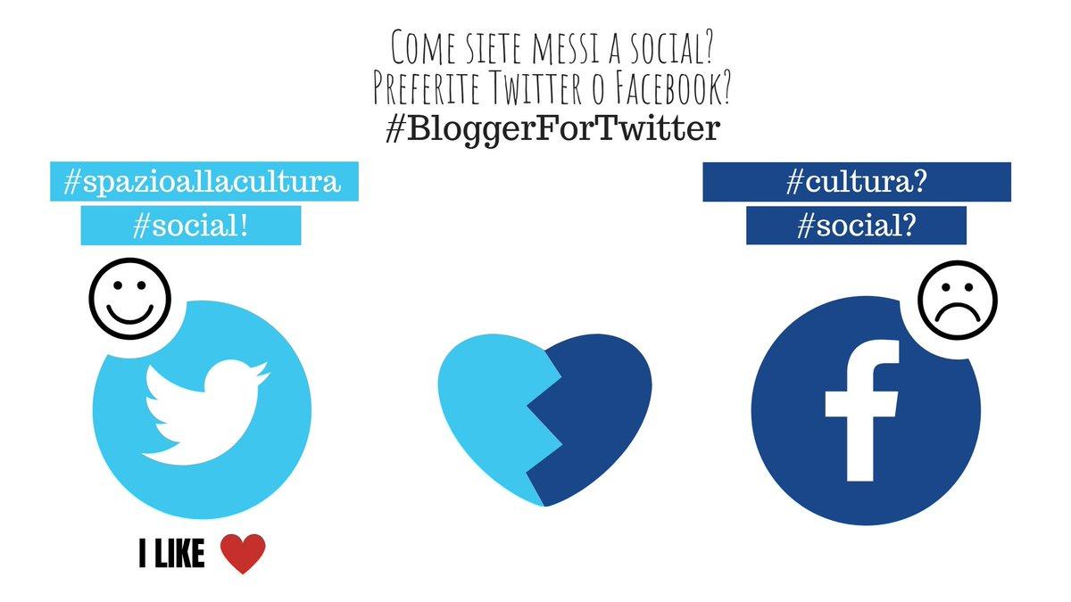 Come siete messi a social? Preferite Twitter o Facebook? Non so voi, ma io di Facebook mi sono stancata quel tanto che basta per levare le  tende. #BloggerForTwitter #social #comunicazione #IlLikeTwitter #blogger #journalists #opinioni #PiùCulturaSuiSocial  - Ukustom