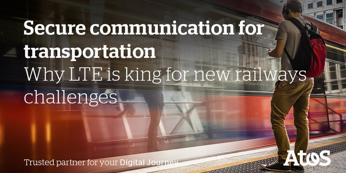 Crisis and incident management : why #LTE is king for new #railways challenges #Innotrans2018...