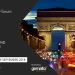 Image for the Tweet beginning: All set for #MobeyForum #Paris