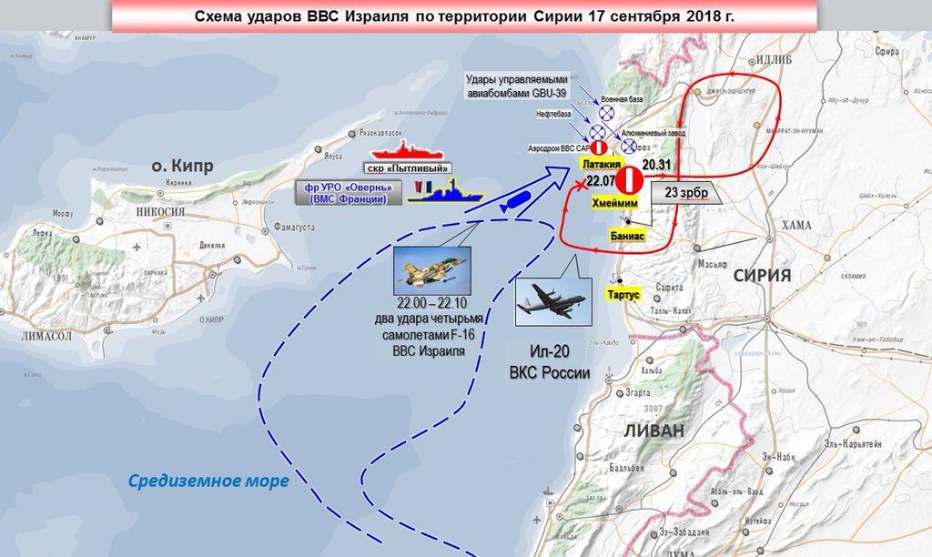 Російський літак у Сирії зник під час нальоту ВПС Ізраїлю - Цензор.НЕТ 4563
