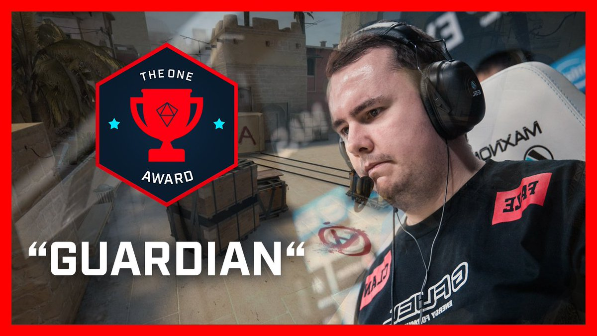 Is @guardiancsgo the master of the AWP? YOU decide in this weeks #OneAward! 👇📽️👇 esl.gg/VoteTheOneNY