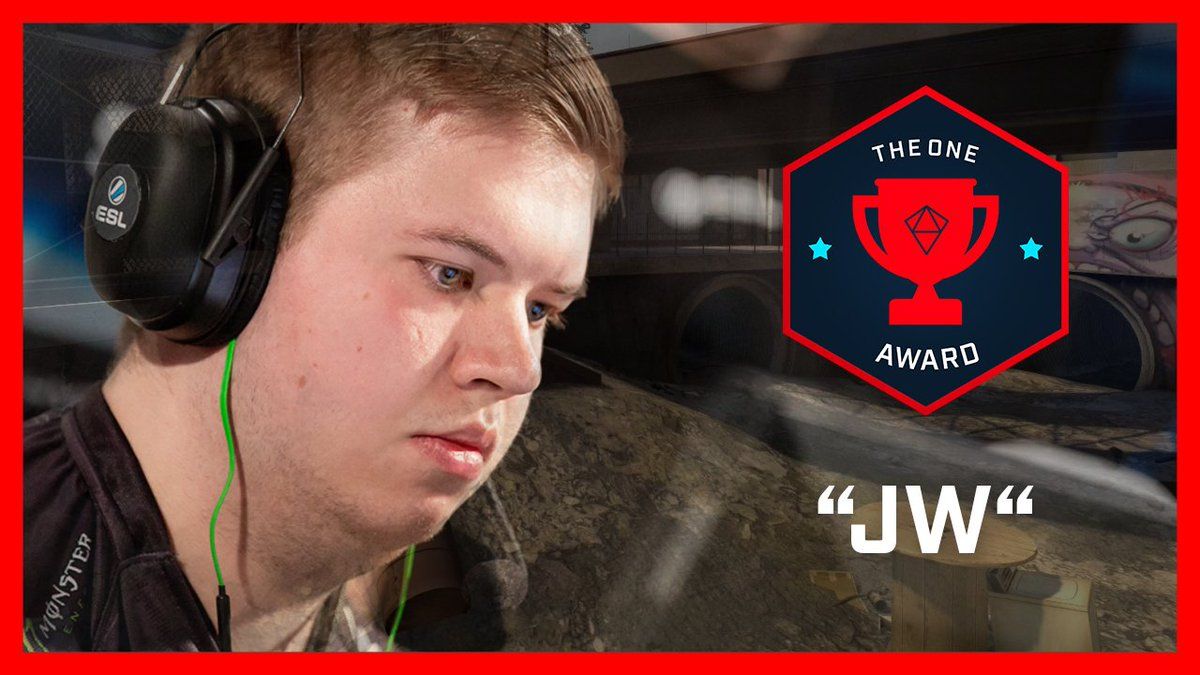 Does @jwCSGO have the ultimate skills with the magic stick? YOU decide in this weeks #OneAward! 👇📽️👇 esl.gg/VoteTheOneNY