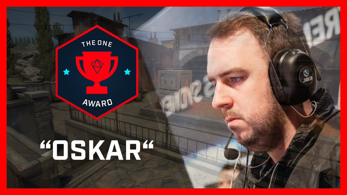 Is @CSGOoskar the AWP boss at #ESLOne New York 2018? YOU decide in this weeks #OneAward! 👇📽️👇 esl.gg/VoteTheOneNY