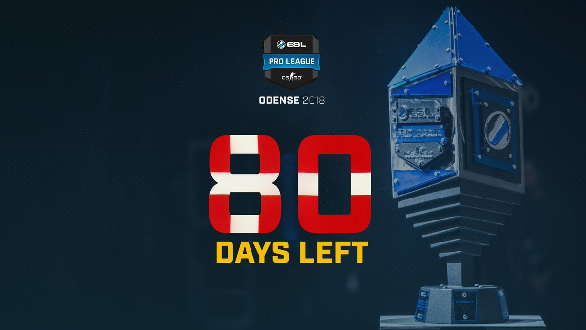 All roads lead to Odense! The #ESLProLeague Season 8 finals will mark the end of another exciting year of #CSGO action! Will you join us? 👇👇👇 pro.eslgaming.com/odense/