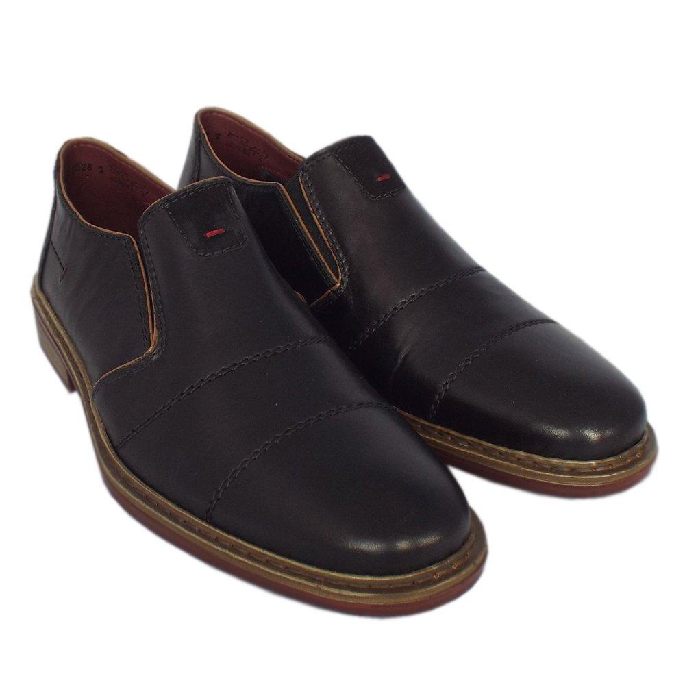 d4b88ea15b7 Men s Rieker 17661-00 Cavalery Mens Smart-Casual Slip On Shoe. A simple