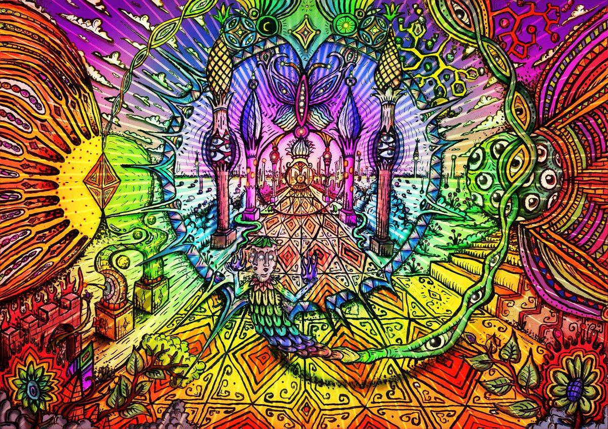 психоделические картинки что это