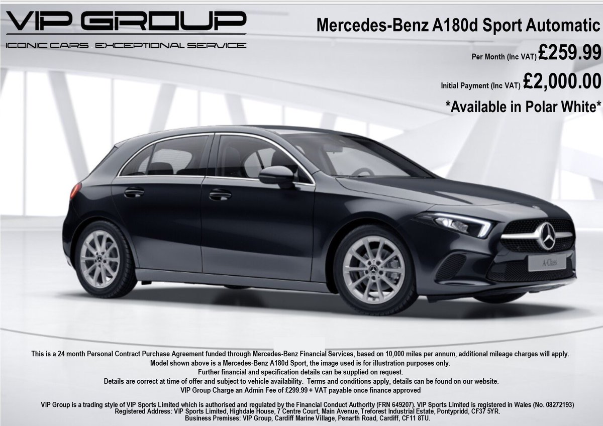 £259.99 per month!! Inc Vat! Open to all || Limited Stock Brand New Mercedes-Benz A-Class! DM to Order