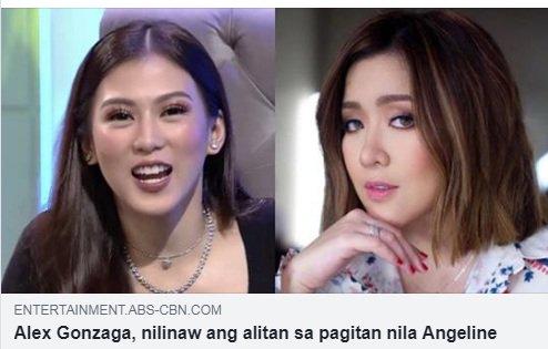Alex: Minsan kasi yung mga... Alamin kung ano ang paglilinaw niya sa isyung ito DITO: bit.ly/2QBVgAa