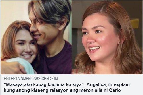 Ang ganda ganda na ng relationship namin ngayon... Narito ang mga nakakakilig na pahayag ni Angelica sa Magandang Buhay! bit.ly/2D3wbLI
