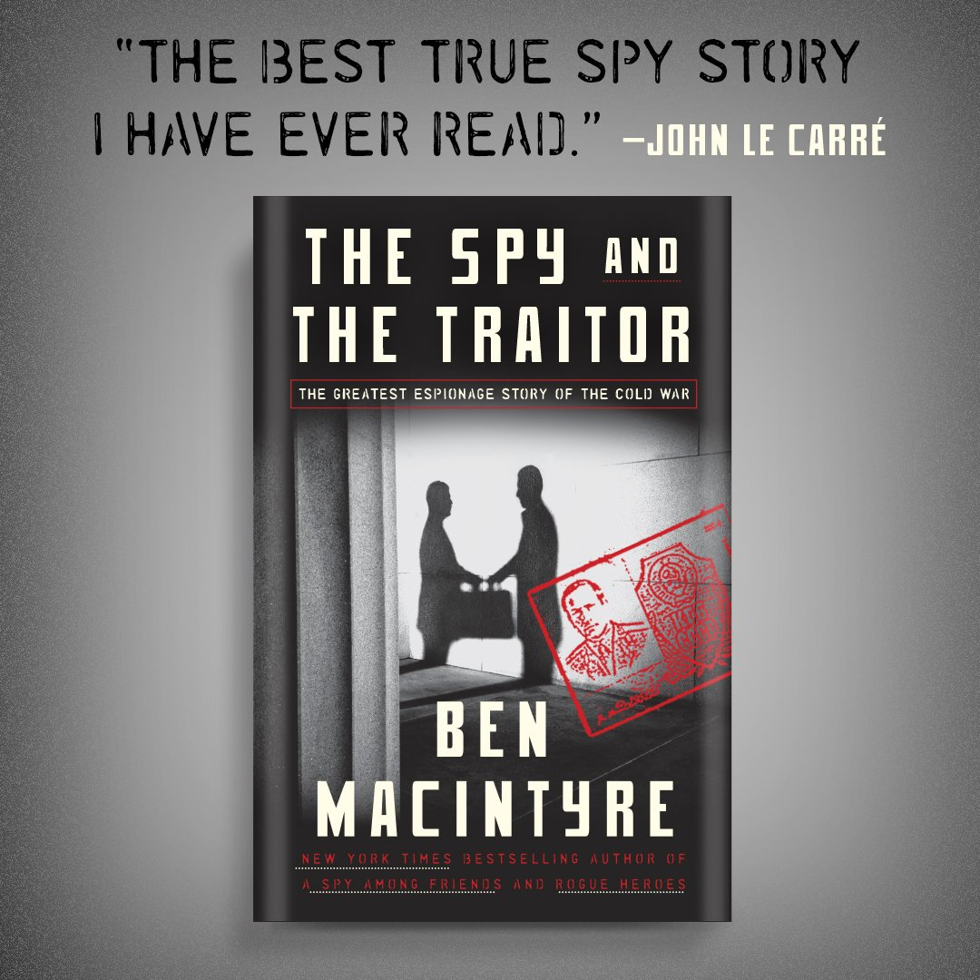 I'm thrilled to share that The Spy and the Traitor is on sale in the U.S  today! You can get your copy here: http://hyperurl.co/thespyandthetraitor …  ...