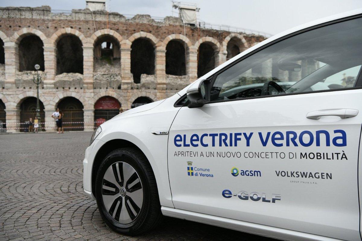 Al via #ElectrifyVerona, un progetto per lo sviluppo dell'#emobility a #Verona. Un esempio? L'installazione gratuita di una #wallbox di ricarica a chi acquisterà un'#autoelettrica, indipendentemente dal brand. Il futuro è iniziato. #VolkswagenGroupItalia #VGI #smartcity  - Ukustom