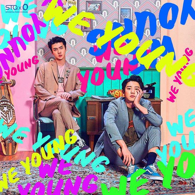 ฉันกำลังฟัง We Young (Korean Ver.)-CHANYEOL (EXO);SEHUN (EXO) รับฟังเพลงทาง JOOX ได้แล้ว! ภาพถ่าย
