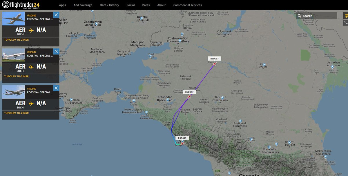 Russian presidential/government aircraft - Page 3 DnXslyfX0AAtWue
