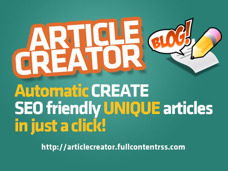 RT @RSS_Spinner: [ ARTICLE CREATOR ] Create articles on any topic from your keyword! https://t.co/F3sNq13cxK ** 8 #SEO Tips for Online E-co…