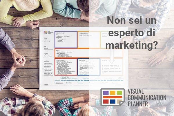 Non sei un esperto di #marketing o #comunicazione? Prova il Visual Communication Planner http://visualcommunicationplanner.it/ #PMI  - Ukustom
