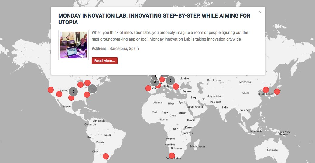 """When innovating,""""You always have to have a Utopia because that's your aim, that is where you want to go,"""" says @Pat_GG. """"But you have to start with the first step."""" Read about the Monday Innovation Lab in #Barcelona: https://media-innovation.news/media-lab/monday-innovation-lab/…"""