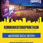 Image for the Tweet beginning: +++ Praktikant gesucht +++ Wir vergeben