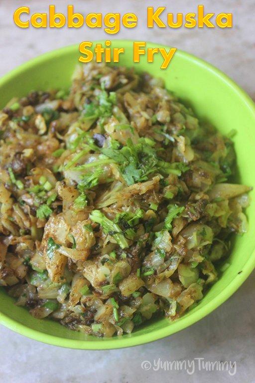 Cabbage Kuska stir fry   Link: https://t.co/eaHQodwEy4 https://t.co/bdrVHCWUdo